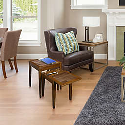 Casual Home Lincoln Table Collection in Antique Mocha