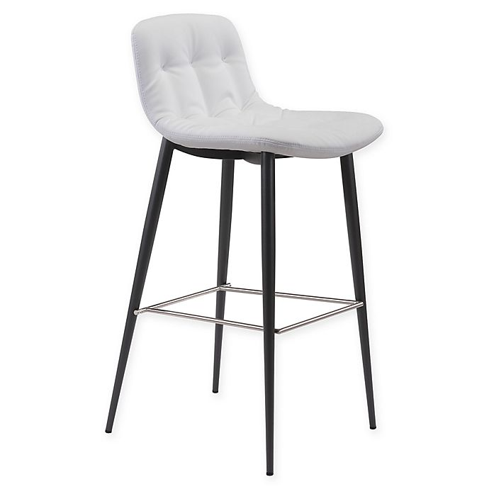 Alternate image 1 for Zuo® Tangiers 30-Inch Bar Stools in White (Set of 2)