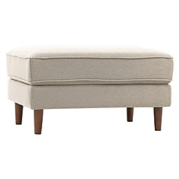 Lifestyle Solutions Tavion Ottoman in Taupe