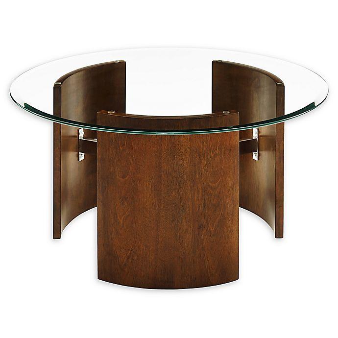 Alternate image 1 for Holly & Martin® Circk Round Coffee Table in Dark Tobacco