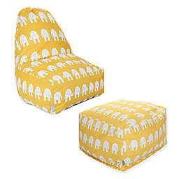 Majestic Home Goods Ellie Bean Bag Furniture Collection