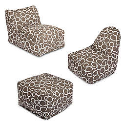 Majestic Home Goods Fusion Bean Bag Furniture Collection