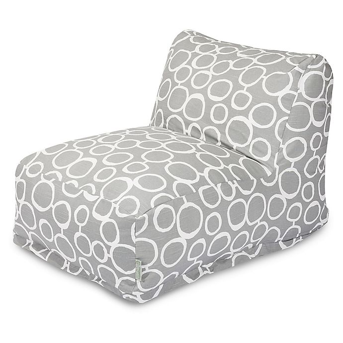 Alternate image 1 for Majestic Home Goods Fusion Bean Bag Chair Lounger in Grey
