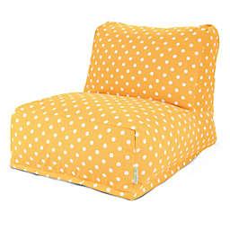 Majestic Home Goods Ikat Dot Bean Bag Chair Lounger