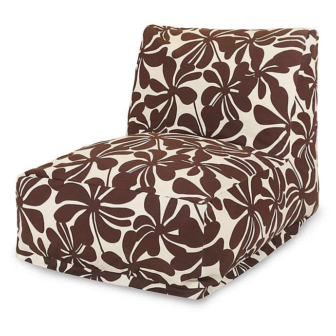 Alternate image 1 for Majestic Home Goods Plantation Bean Bag Chair Lounger in Chocolate