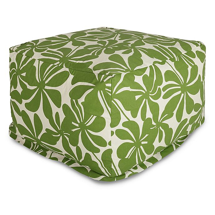Alternate image 1 for Majestic Home Goods Plantation Bean Bag Ottoman in Sage