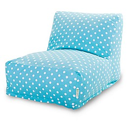 Majestic Home Goods Small Polka Dot Bean Bag Furniture Collection