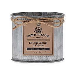 Bee & Willow™ Home Spiced Vanilla & Cream 8 oz. Tin Candle