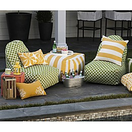 Majestic Home Goods Chevron Bean Bag Furniture Collection