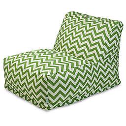 Majestic Home Goods Chevron Bean Bag Chair Lounger