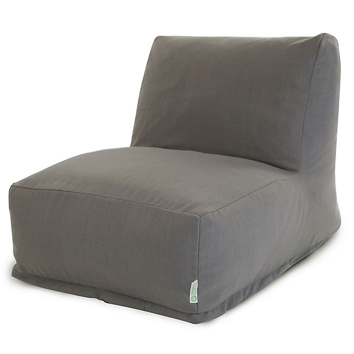 Alternate image 1 for Majestic Home Goods Wales Bean Bag Chair Lounger in Grey