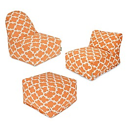 Majestic Home Goods Trellis Bean Bag Furniture Collection
