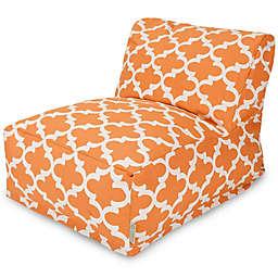 Majestic Home Goods Trellis Bean Bag Chair Lounger