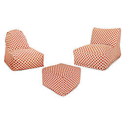 Majestic Home Goods Bamboo Bean Bag Furniture Collection