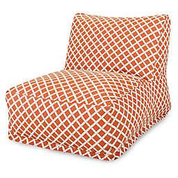 Majestic Home Goods Bamboo Print Bean Bag Chair Lounger