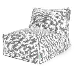 Majestic International Kick-It Towers Bean Bag Chair Lounger in Grey