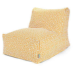 Majestic International Kick-It Towers Bean Bag Chair Lounger in Citrus