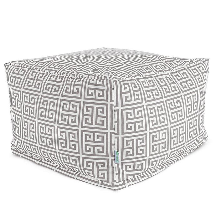 Alternate image 1 for Majestic International Kick-It Towers Bean Bag Ottoman in Grey