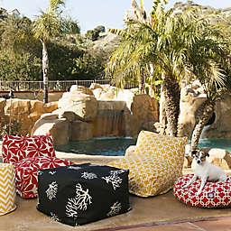 Majestic International Kick-It Coral Bean Bag Seating Collection