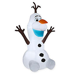 Disney® Olaf the Snowman Sitting Inflatable Outdoor Decoration