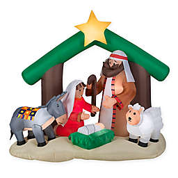 Gemmy® Inflatable Nativity Scene Outdoor Decoration