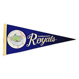 MLB Kansas City Royals Vintage Ballpark Traditions Pennant