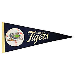 MLB Detroit Tigers Vintage Ballpark Traditions Pennant