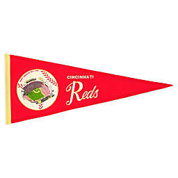 MLB Cincinnati Reds Vintage Ballpark Traditions Pennant
