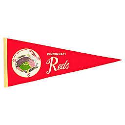 MLB Cincinnati Reds Vintage Ballpark Traditions Pennant
