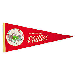 MLB Philadelphia Phillies Vintage Ballpark Traditions Pennant
