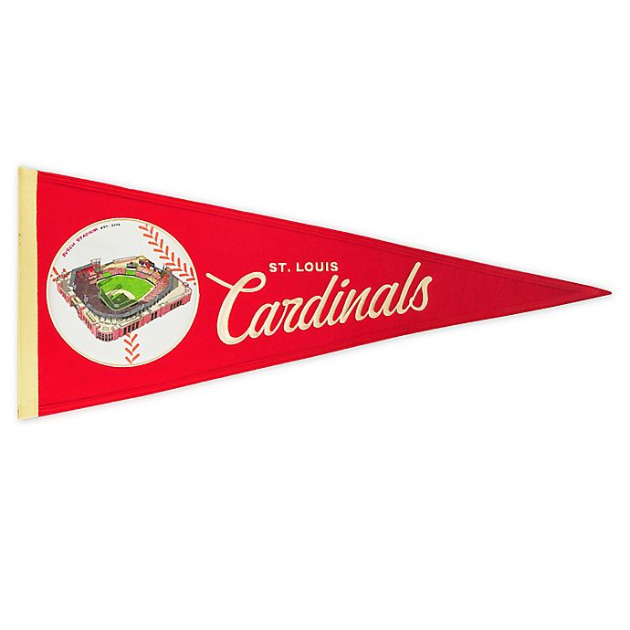 Alternate image 1 for MLB St. Louis Cardinals Vintage Ballpark Traditions Pennant