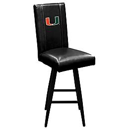 University of Miami Swivel Bar Stool 2000