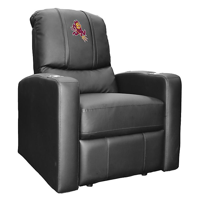 Alternate image 1 for Arizona State University Stealth Recliner with Alternate Logo
