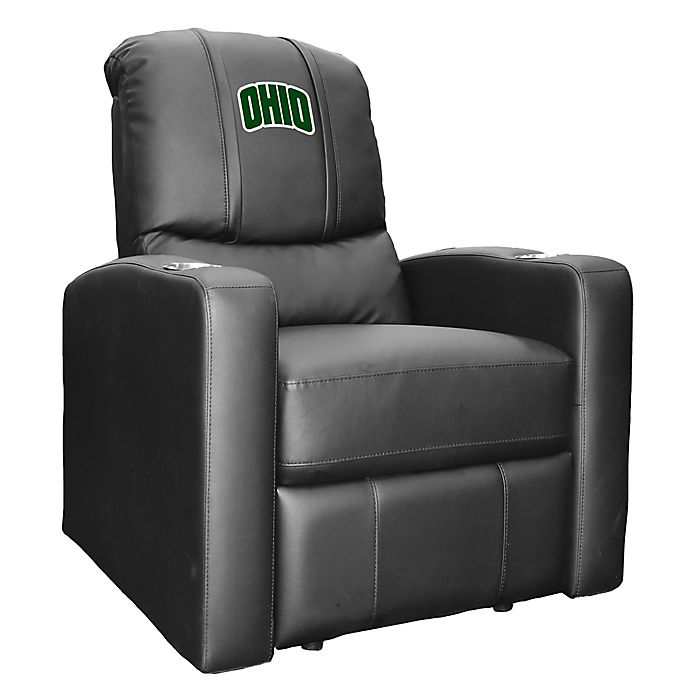 Alternate image 1 for Ohio University Stealth Recliner with Alternate Logo