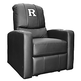 Rutgers University Stealth Recliner with Alternate White \