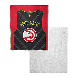 NBA Personalized Silk Touch Sherpa Throw Blanket Collection