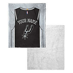 2a5859b8b94 NBA San Antonio Spurs Personalized Silk Touch Sherpa Throw Blanket