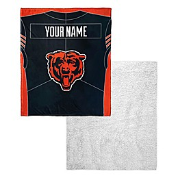 NFL Personalized Silk Touch Sherpa Throw Blanket Collection