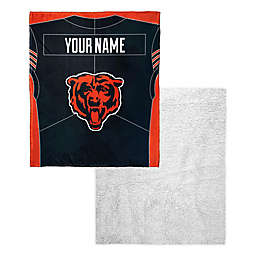 4a7316aaa70 NFL Personalized Silk Touch Sherpa Throw Blanket