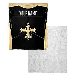 e356bdb8 NFL Personalized Silk Touch Sherpa Throw Blanket | Bed Bath & Beyond