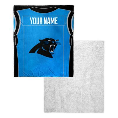 NFL Carolina Panthers Personalized Silk