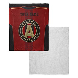 MLS Personalized Silk Touch Sherpa Throw Blanket Collection