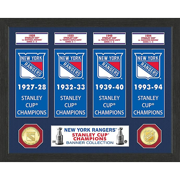 Alternate image 1 for NHL Detroit Redwings Deluxe Banner Photo Mint