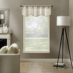 Kensington Home Linden 52-Inch Linen Blend Sheer Valance