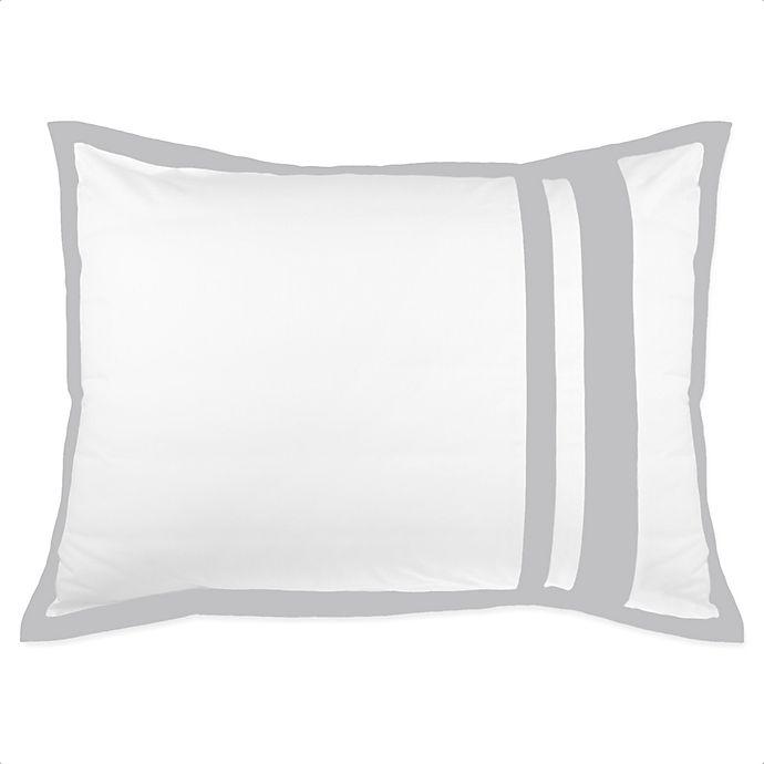 Alternate image 1 for Wamsutta® Hotel Border Pillow Sham