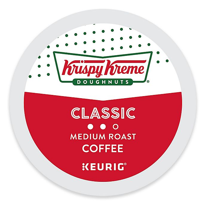Alternate image 1 for Keurig® K-Cup® Pack 18-Count Krispy Kreme Doughnuts® Classic Medium Roast Coffee