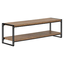 South Shore Gimetri TV Stand in Rustic Bamboo