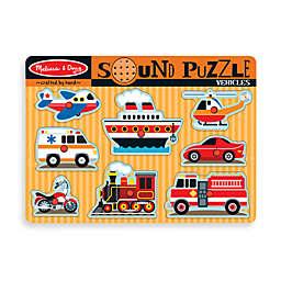 Melissa & Doug® Vehicles Sound Puzzle
