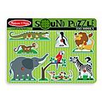 Melissa & Doug® 9-Piece Zoo Animals Sound Puzzle
