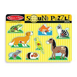 Melissa & Doug® Pets Sound Puzzle